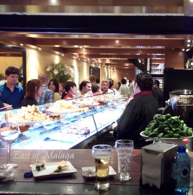 typical tapas bar