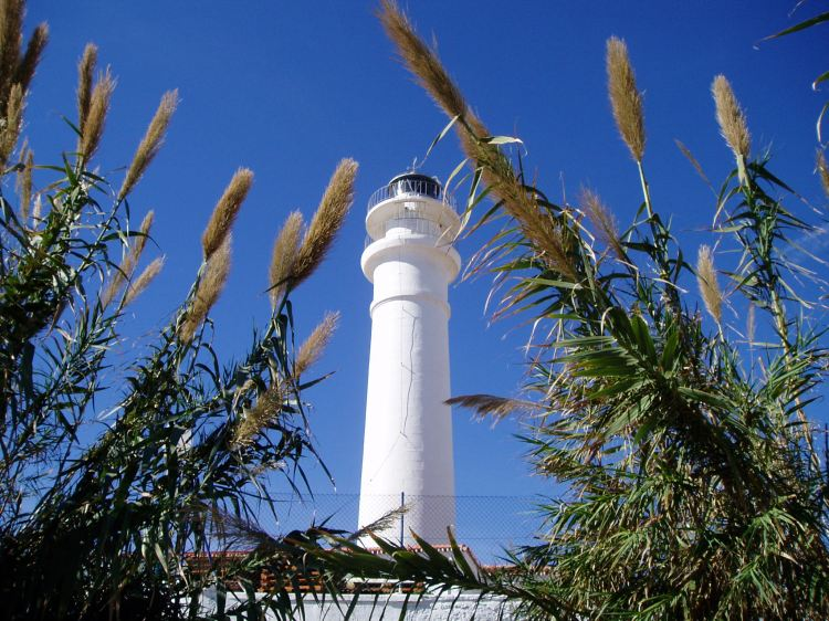 Lighthouse at Torrox Costa, Spain