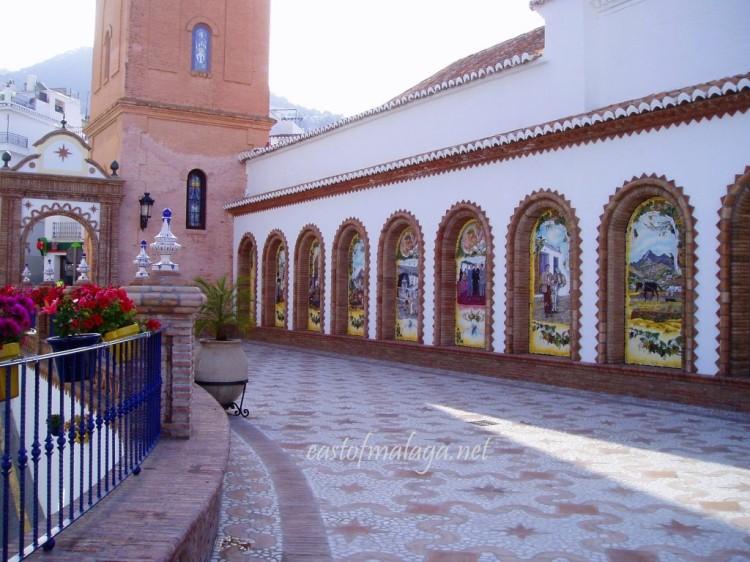 Paseo de Las Tradiciones, Competa, Spain