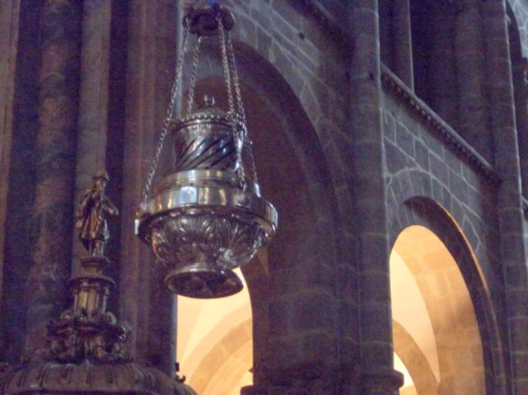 Thurible in Santiago cathedral