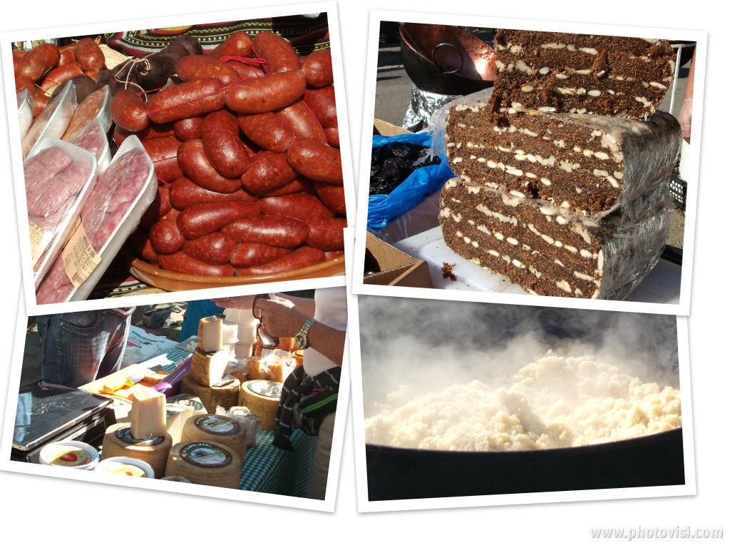 Cake Chorizo Olives Chevre