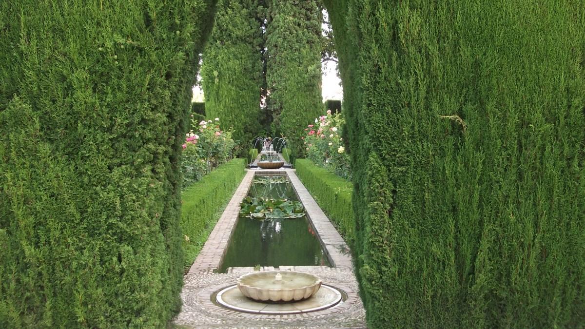Generalife Gardens, Alhambra Palace, Granada