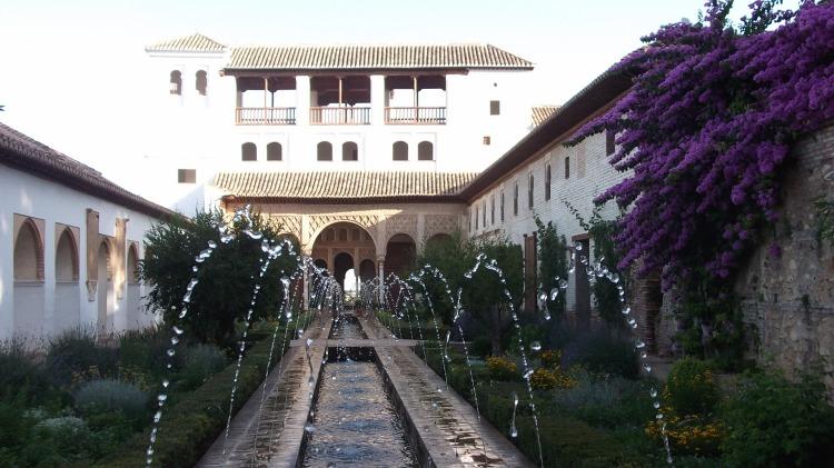 Generalife Gardens, Alhambra Palace