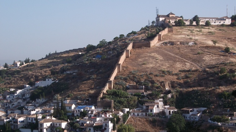 Old city walls, Granada