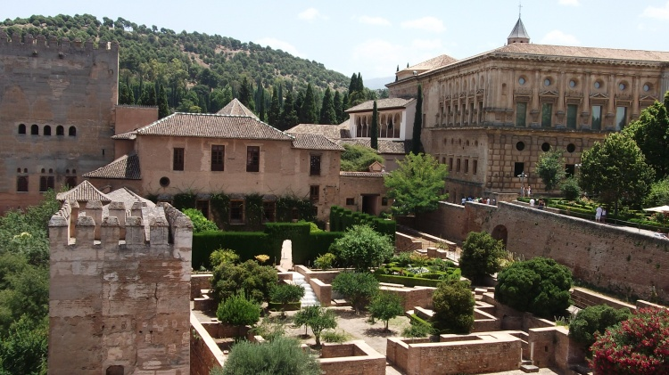 Within the Alhambra Palace, Granada