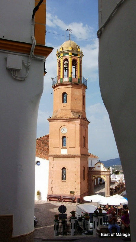 Church in the village of Competa