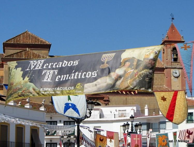 medieval market  in torrox pueblo