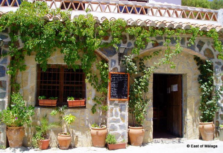 Doorway to the restaurant in Acebuchal
