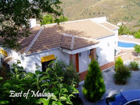Typical Andalucian villa and pool