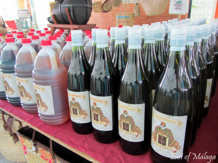 Sweet Moscatel wine for sale in Cómpeta