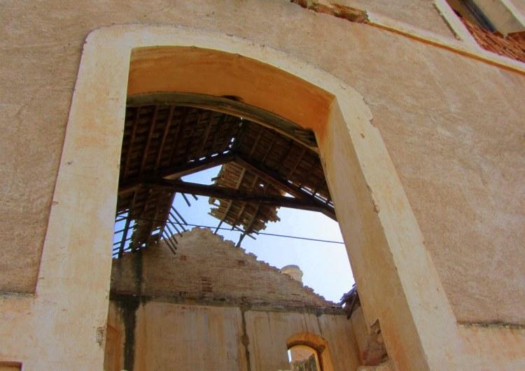 Derelict sugar factory in Maro, Spain