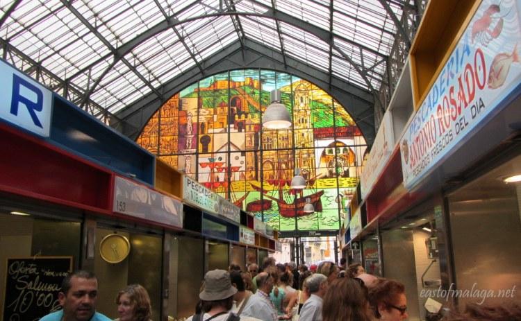 Malaga´s Atarazanas market