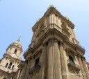 Málaga Cathedral has only one tower - the other is as yet unfinished