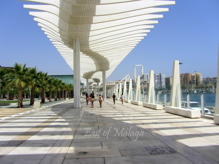 Port of Málaga walkway