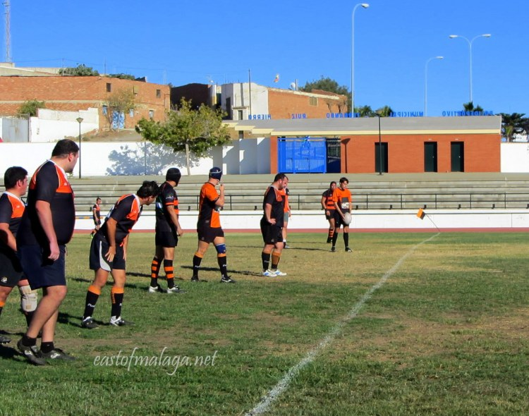 Kick off at Rugby Axarquia