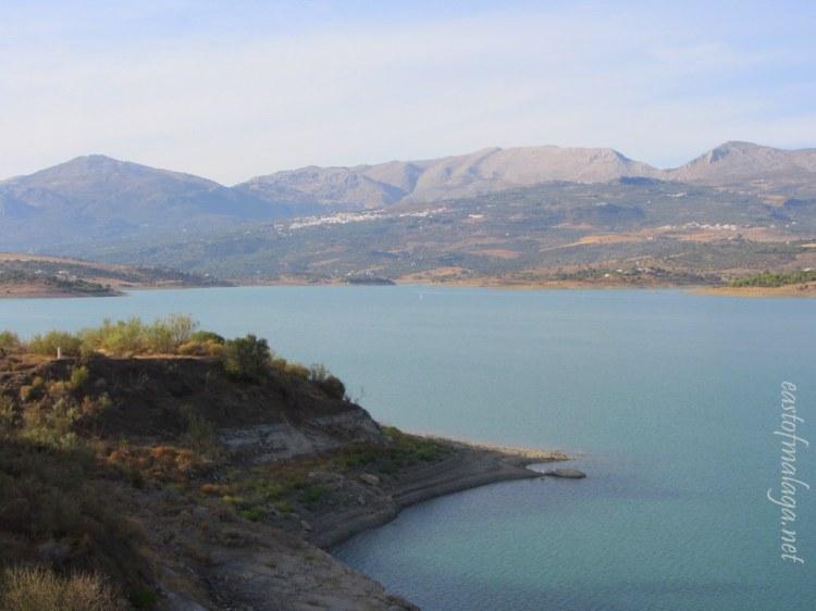 Lake Viñuela - Sept 2012