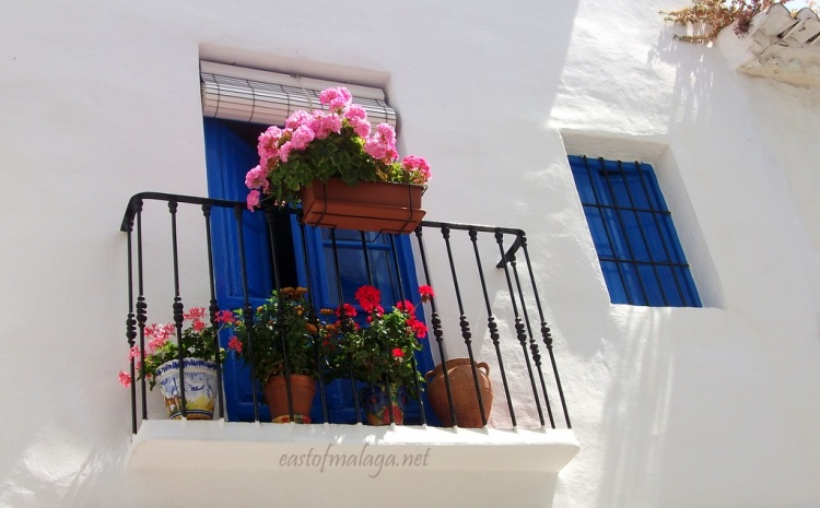 Balcony blue - Cómpeta, Spain