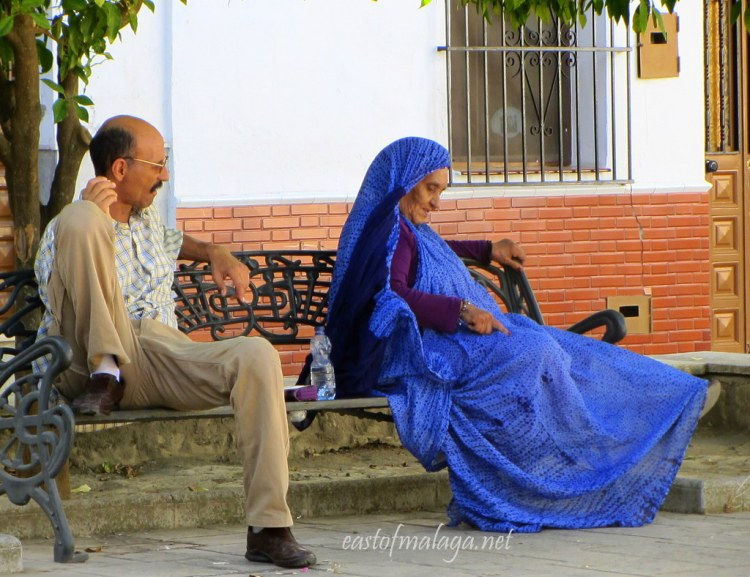 Lady in blue - Colmenar, Spain