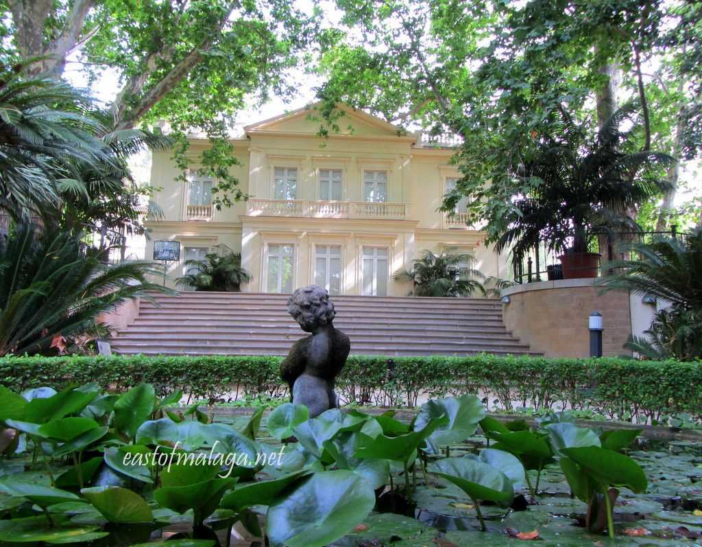 Marvelous Villa In Jardin Concepcion, Malaga. Botanical Gardens Around The ...