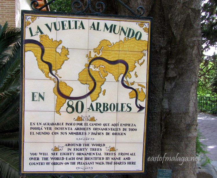 Around the World in 80 Trees at Jardin Concepcion, Malaga