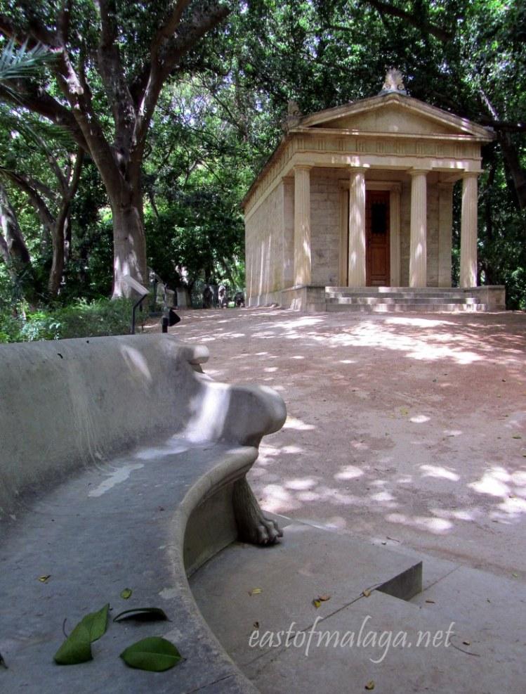 Roman museum at Jardin Concepcion, Malaga