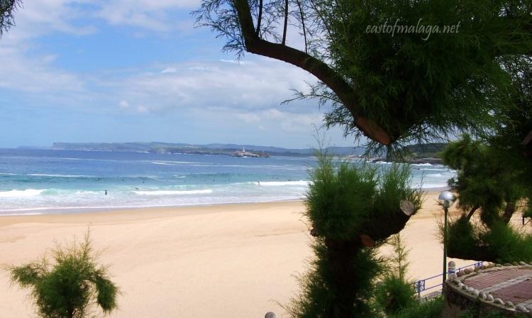 El Sardinero Beach, Santander, Spain