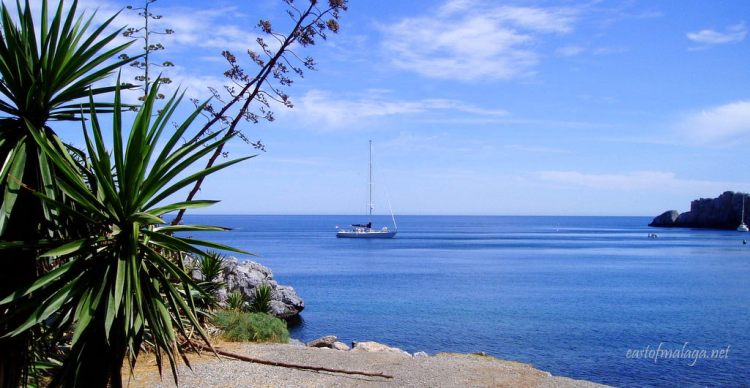 Where the land meets the sea, marina del este, Spain