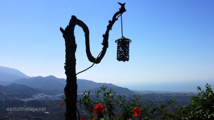 Looking across to Frigiliana, Spain