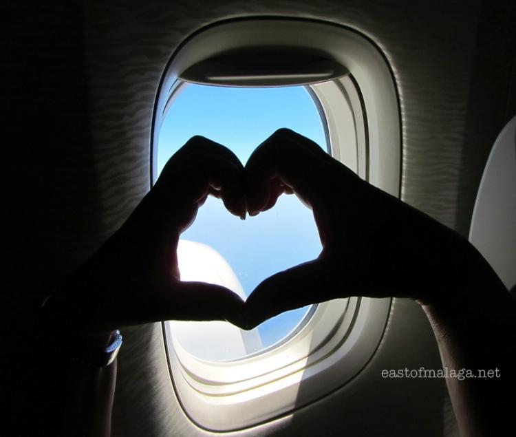 I LOVE flying!
