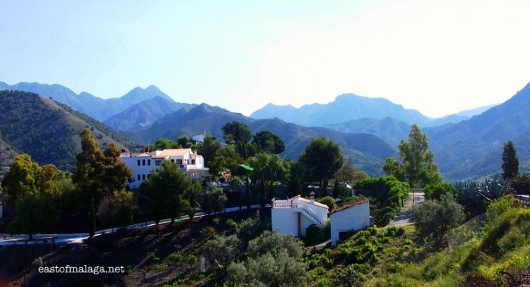 Almijara mountains, east of Málaga