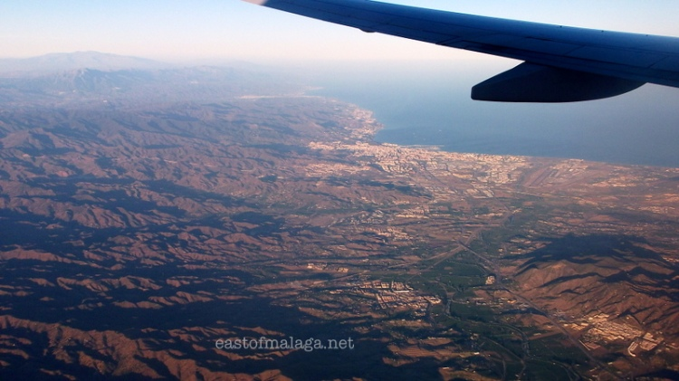 Approaching Malaga