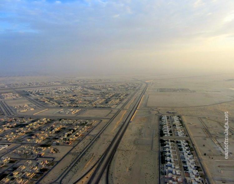 Approaching Abu Dhabi