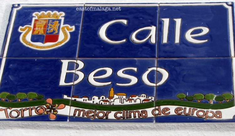 Calle Beso, Torrox pueblo, Andalucia