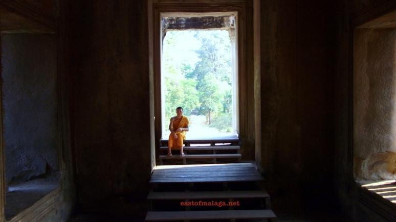 Young monk at Angkor Wat, Cambodia