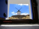 Don Quixote windmill in Consuegra, Spain