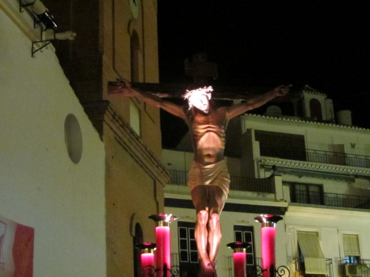 Good Friday procession, Competa, Spain