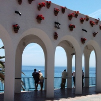 Wordless Wednesday: Balcón de Europa, Nerja