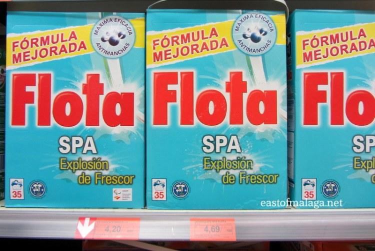 Flota washing powder