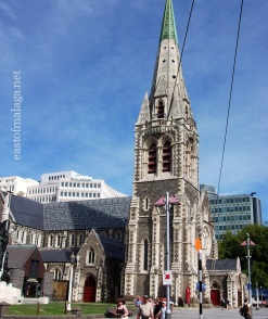 Christchurch cathedral, NZ taken February 2011