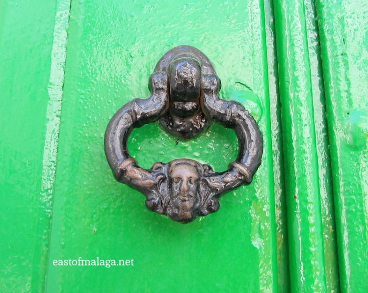 Door knocker, Cómpeta, Spain