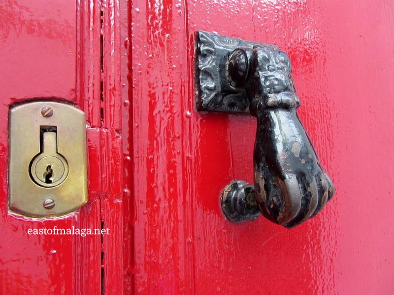Superbe Hand Of Fatima Door Knocker, Spain