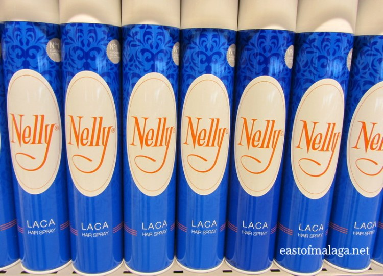 Nelly hairspray