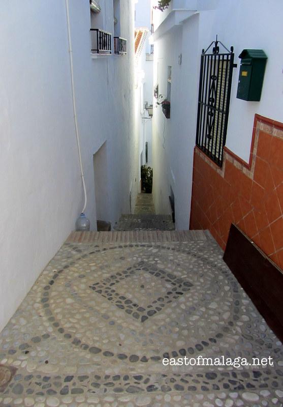 Callejon de la Alcuza, Sayalonga, Spain