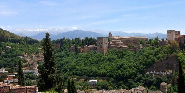 The Alhambra from Plaza San Nicolas