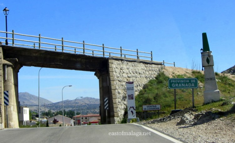 Old railway bridge, Zafarraya, Spain