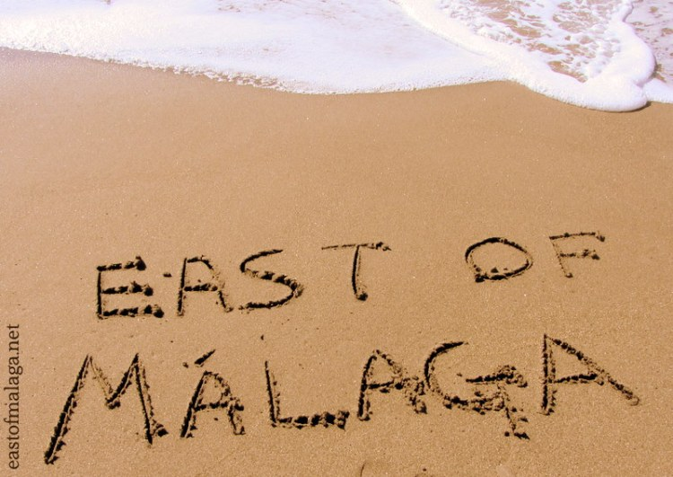 Beach, east of Malaga