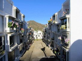 The Round Cemetery, Sayalonga, Spain