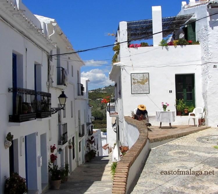 Calle Alta, Frigiliana, Spain