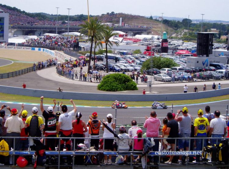 Moto GP from Jerez, Spain