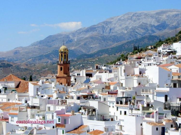 Competa village, Spain